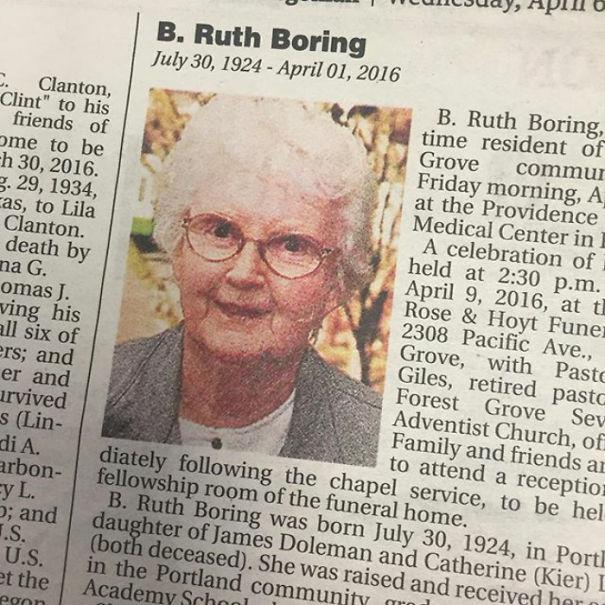 Ruth Boring