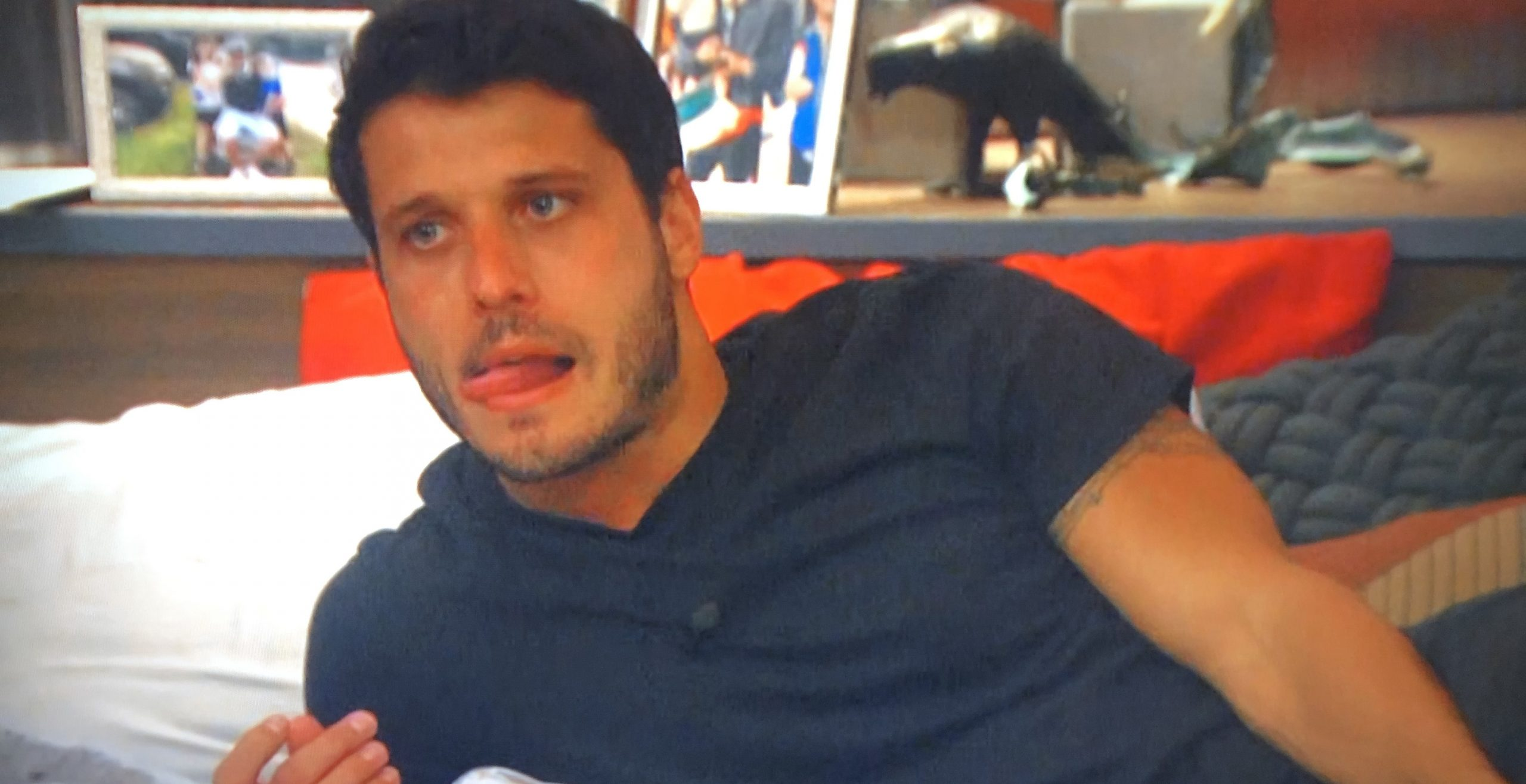 Cody Calafiore Licking his Lips Again