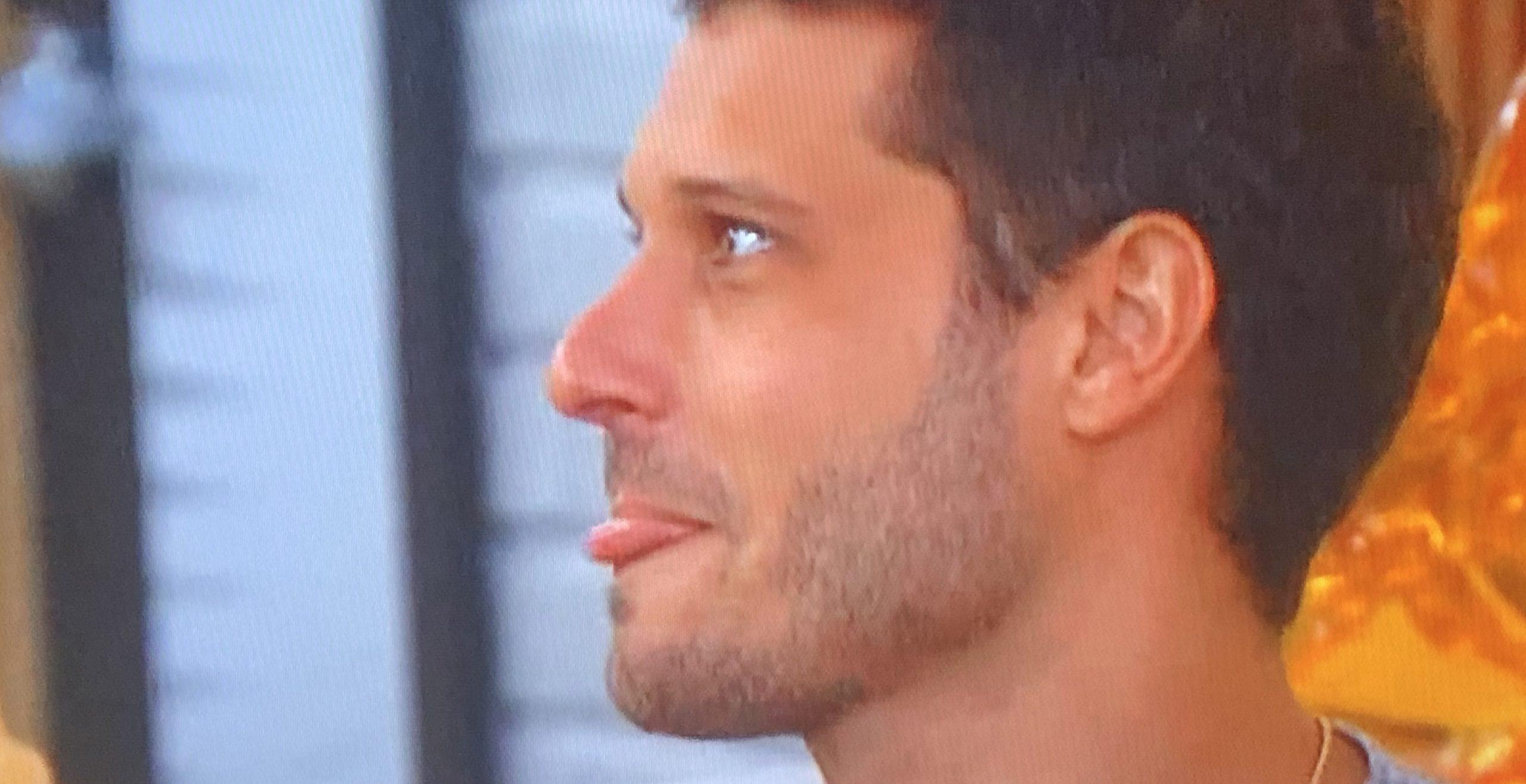 Cody Calafiore Licking his Lips Even More