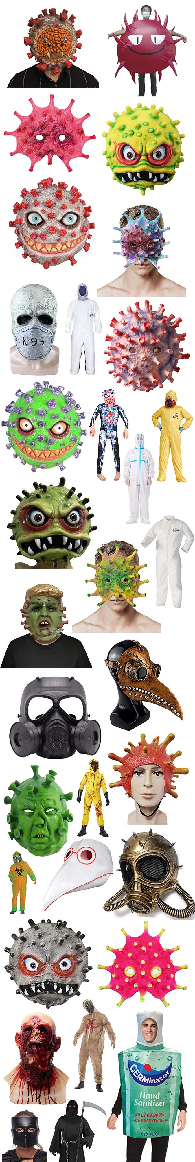 CORONAVIRUS COVID HALLOWEEN 2020 COSTUMES