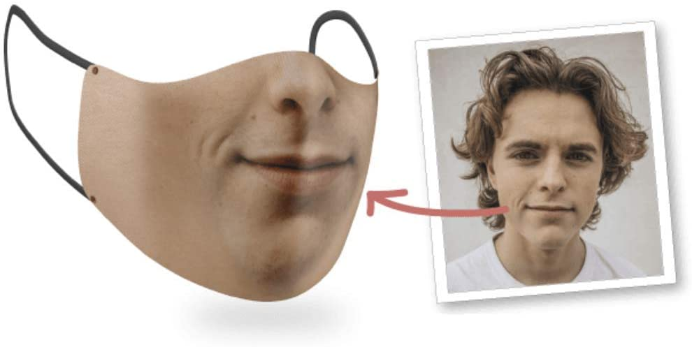 Custom Face Mask Using Your Real Face
