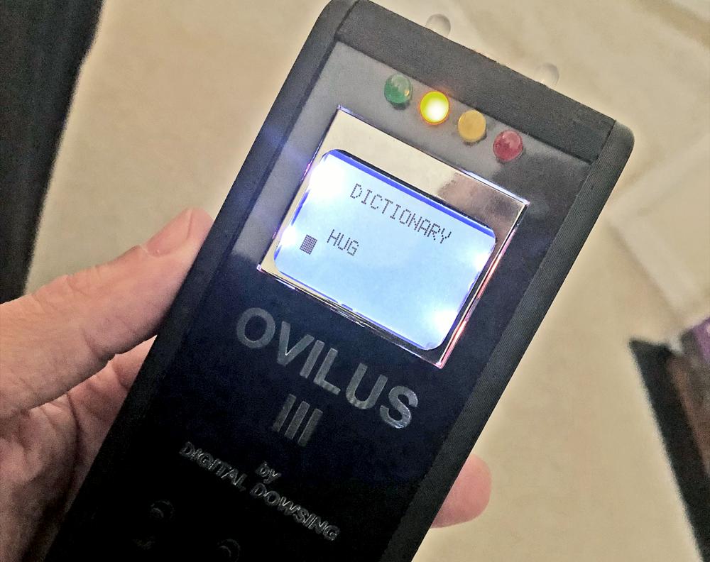 Ovilus III digital dowsing device