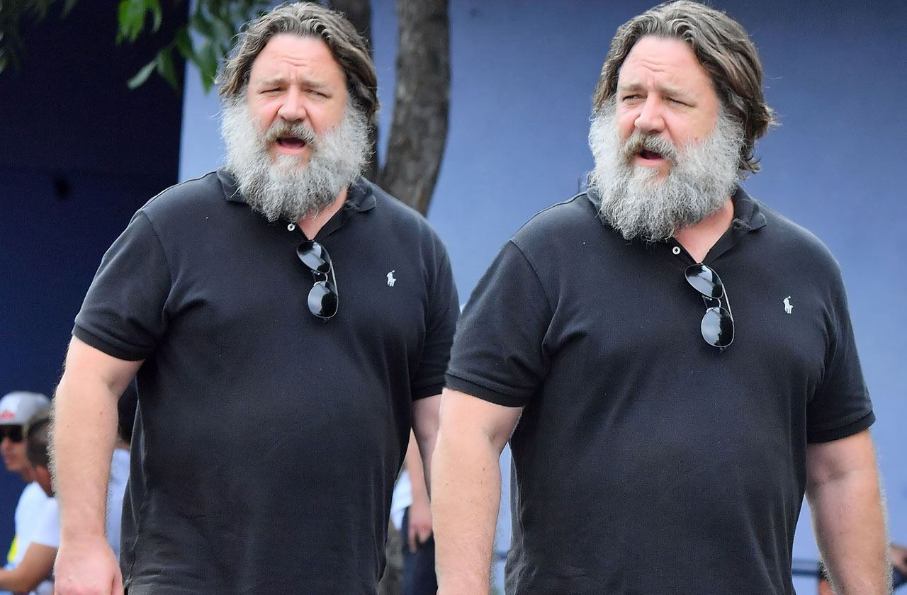 Russell Crowe Now
