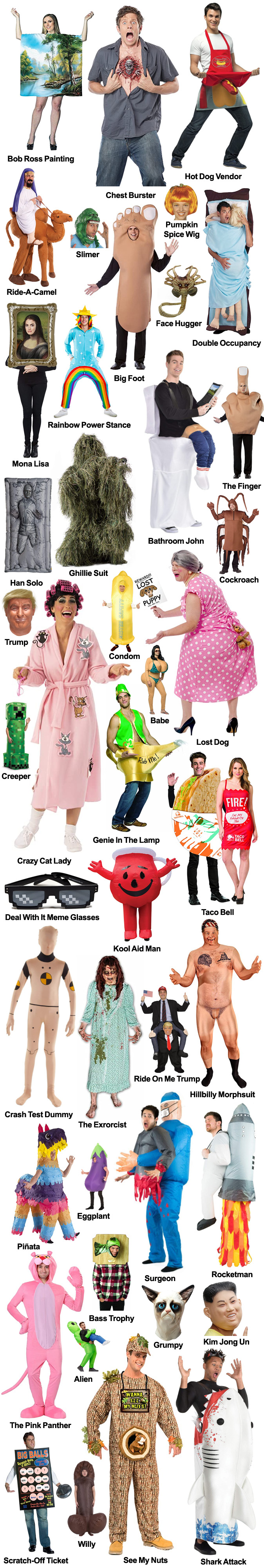 THE BEST COSTUMES FOR HALLOWEEN 2020