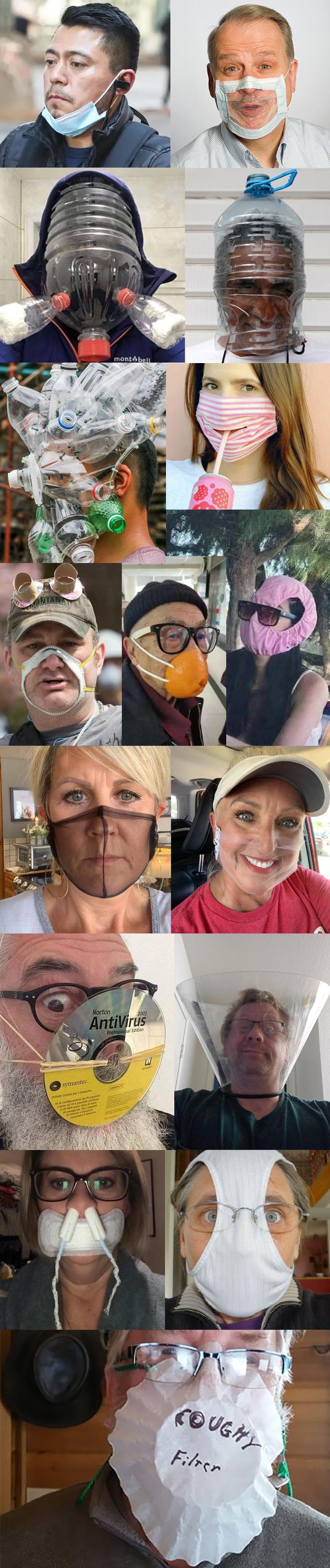 The Stupidest Face Masks