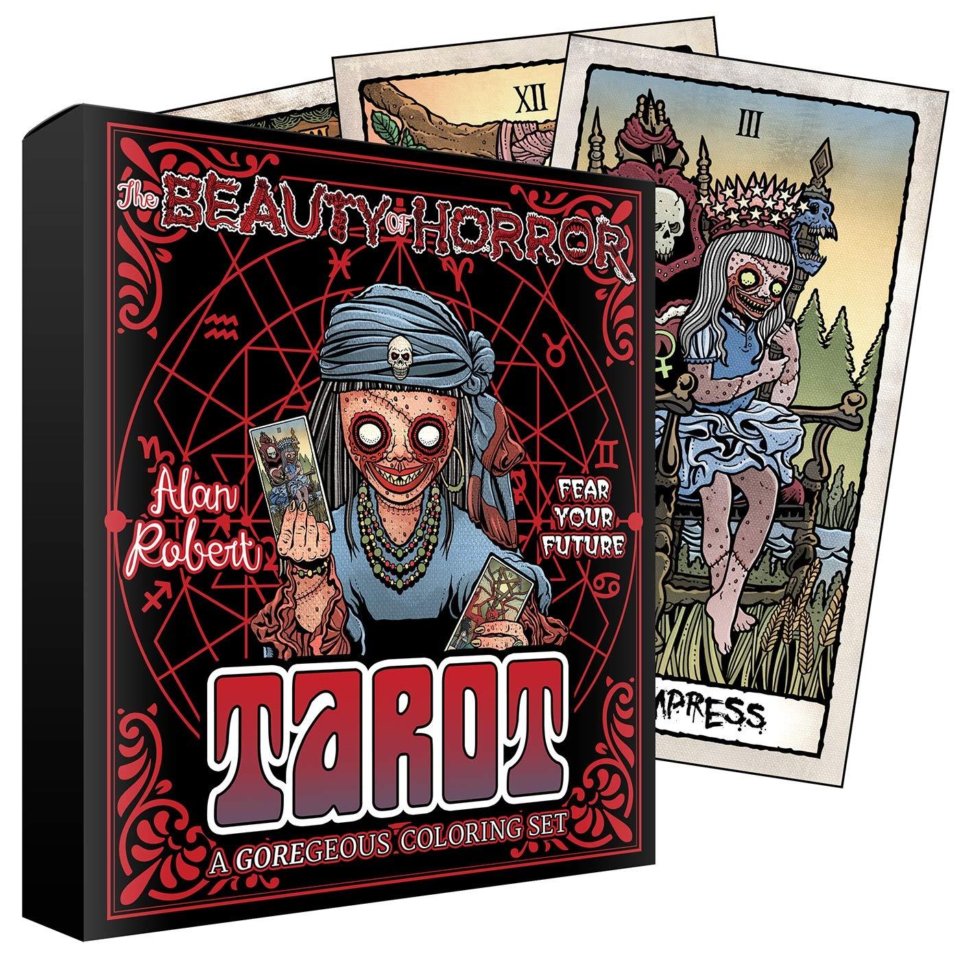 The Beauty of Horror Tarot Cards