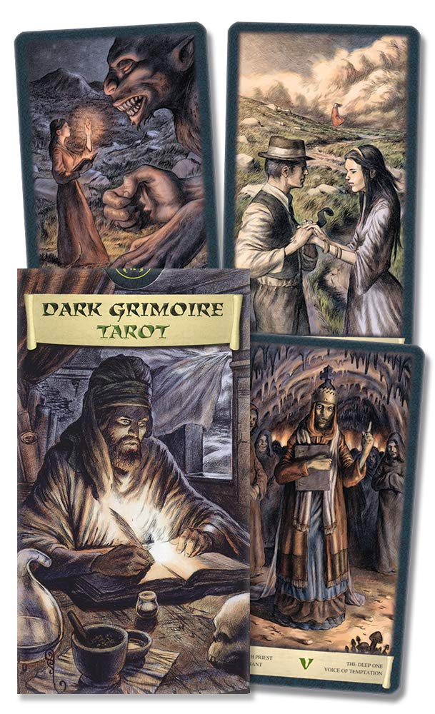 Dark Grimoire Tarot Card Deck