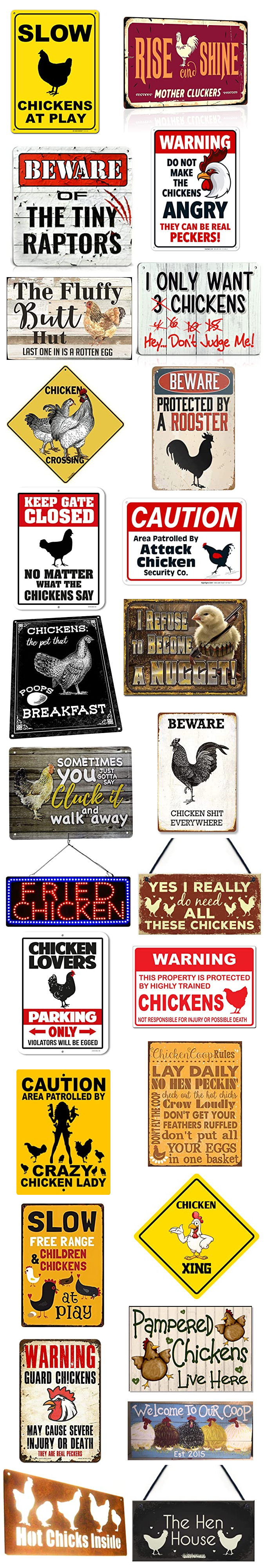 Funny-Chicken-Coop-Signs