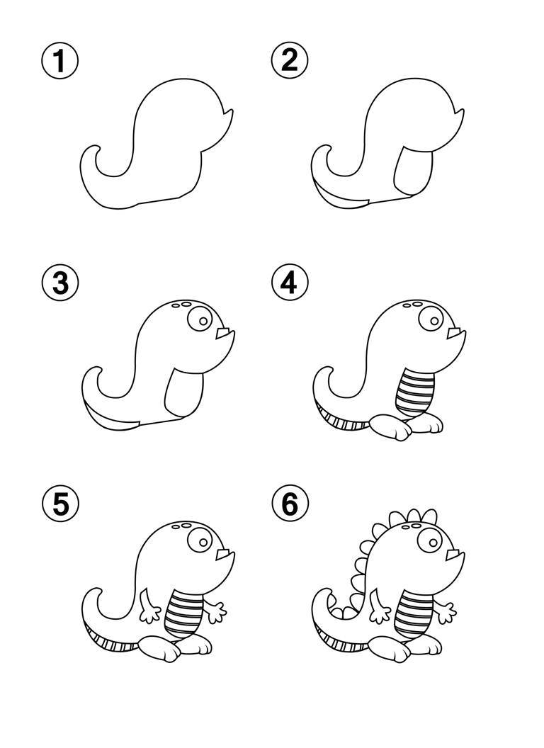 LEARN HOW TO DRAW CUTE MONSTERS