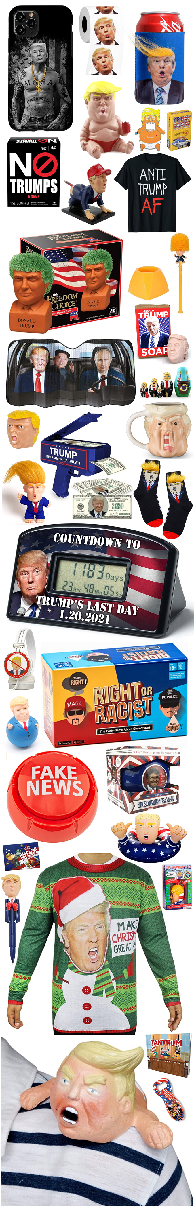 MORE HILARIOUS TRUMP GAG GIFTS 2020