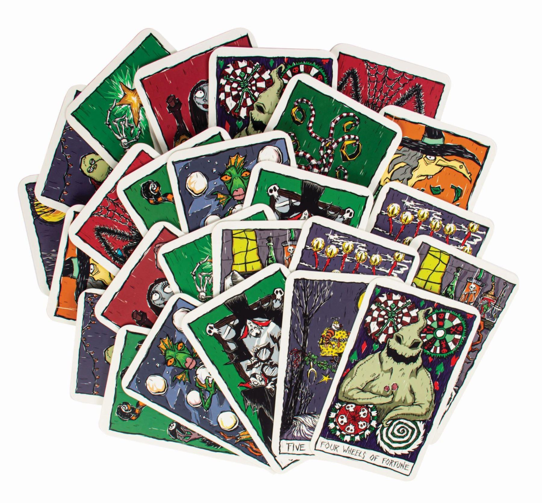The Nightmare Before Christmas Tarot Deck