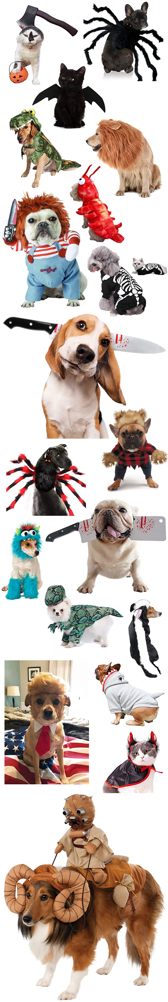 THE SCARIEST HALLOWEEN COSTUMES FOR DOGS