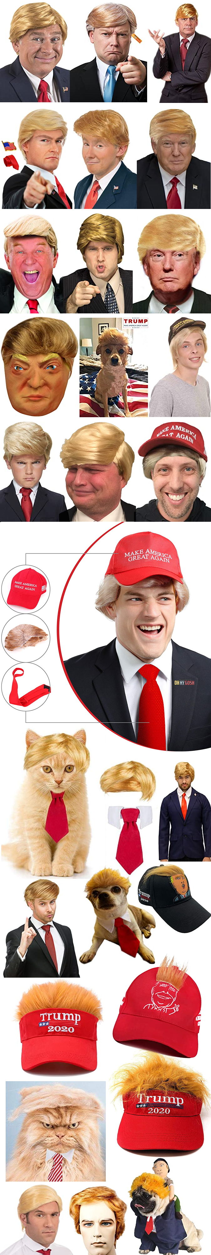 THE VERY BEST DONALD TRUMP WIGS