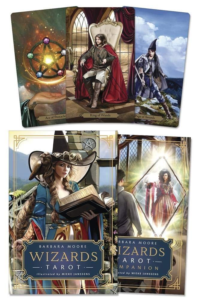 Wizards Tarot Cards