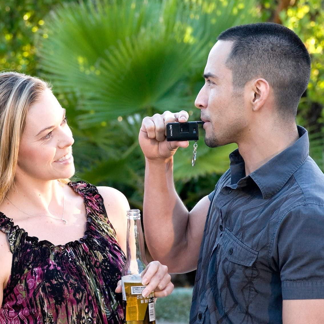 Alcohol Tester Pocket Portable Breathalyzer