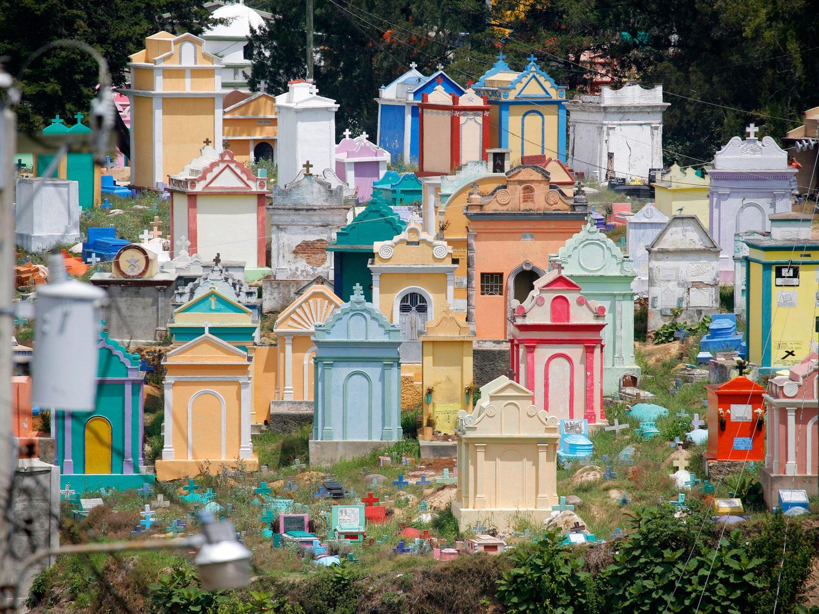 Chichicastenango Cemetery Guatemala