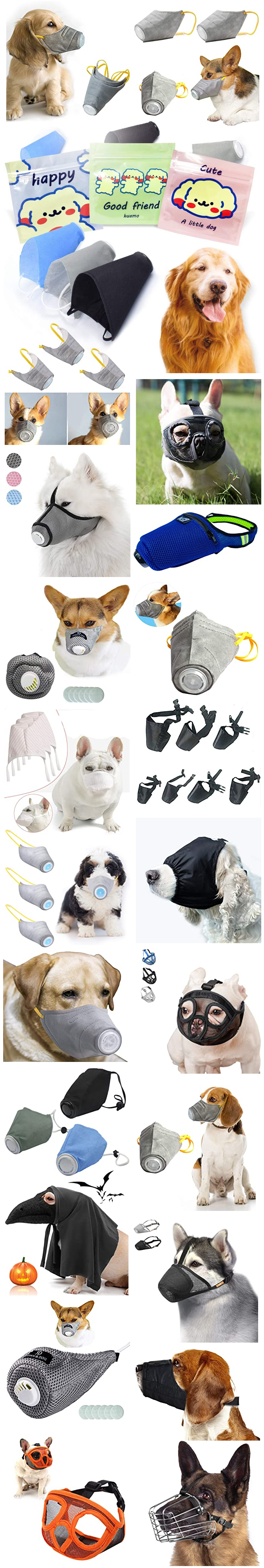 FACE MASKS FOR DOGS
