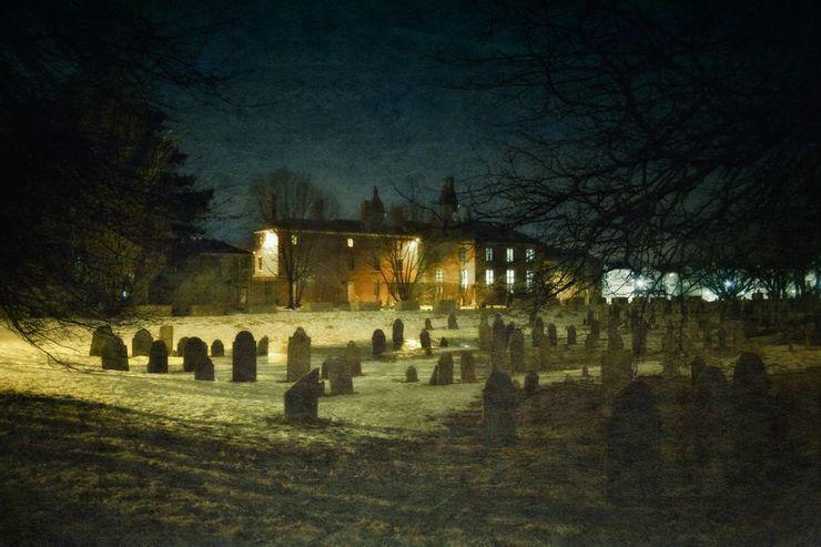 Howard Street Cemetery Salem Massachusetts