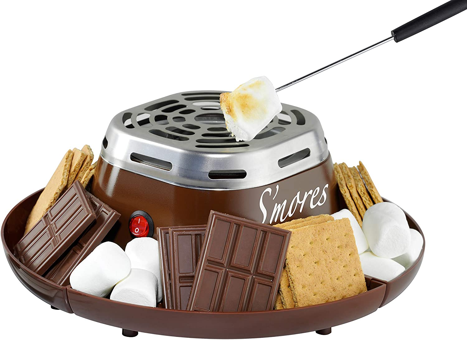 Indoor Electric Stainless Steel Smores Maker