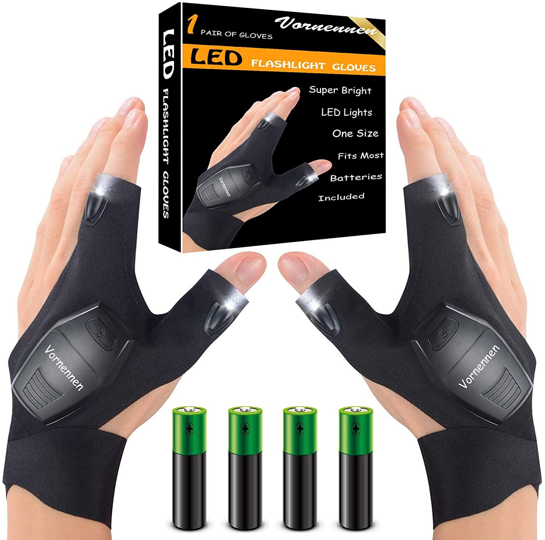 LED Flashlight Gloves