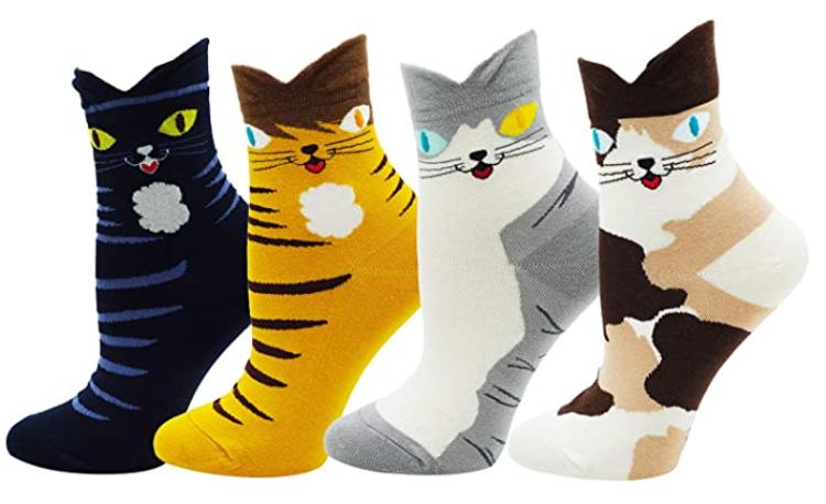 Ladys Cute Cat Socks