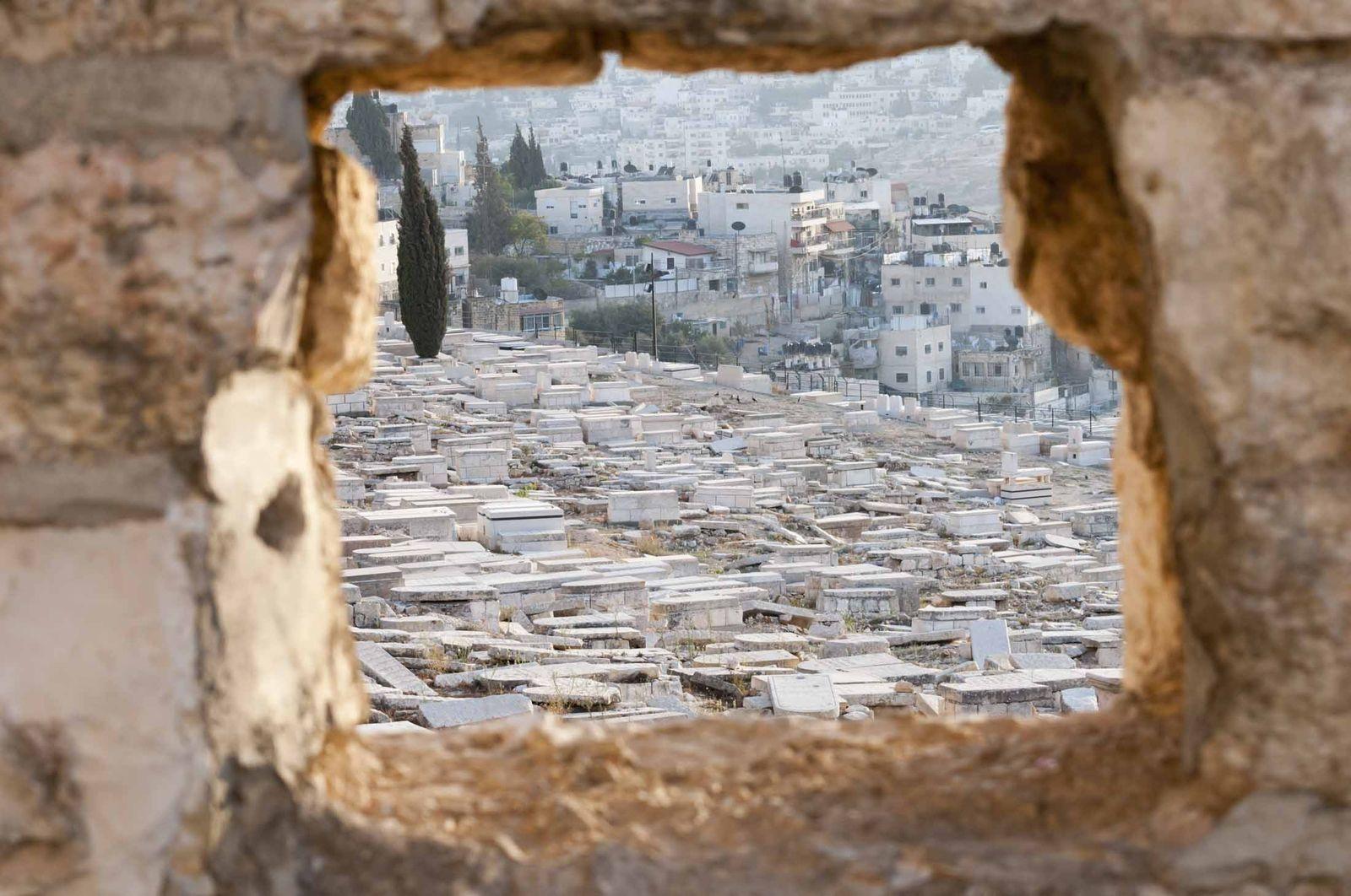 Mound Of Olives Jerusalem