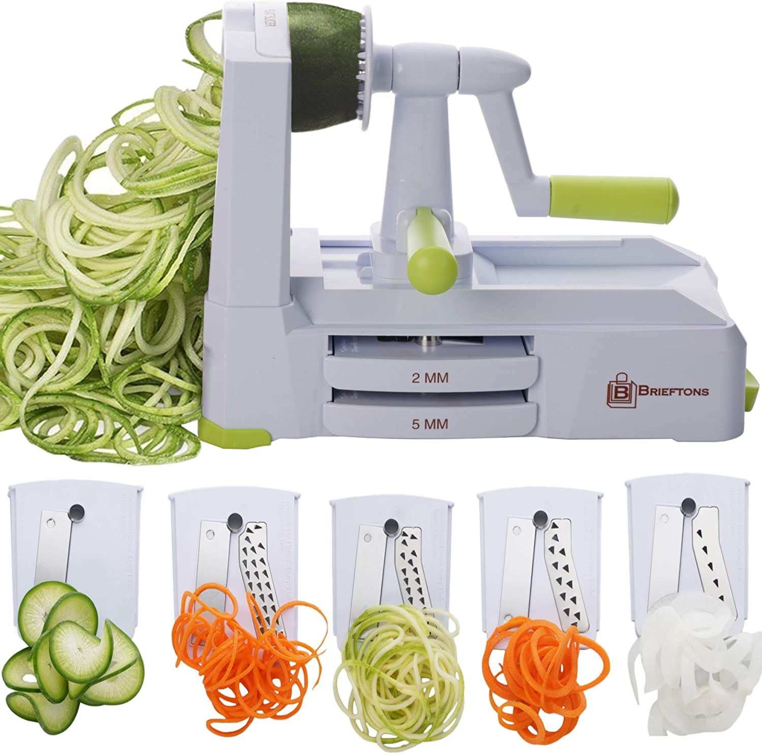 Strongest and Heaviest Duty Vegetable Spiral Slicer