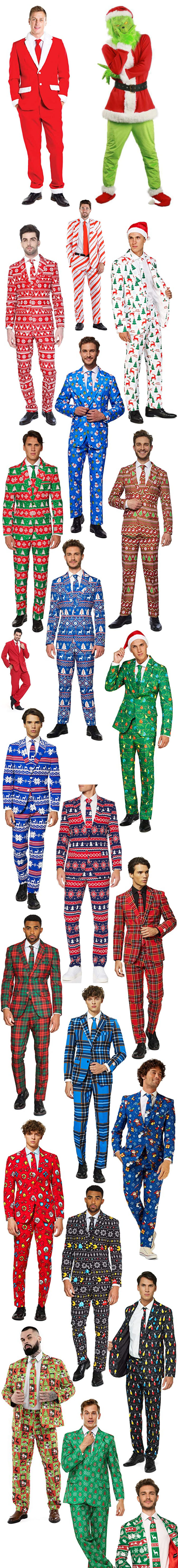THE BEST CHRISTMAS SUITS TO BUY 2020