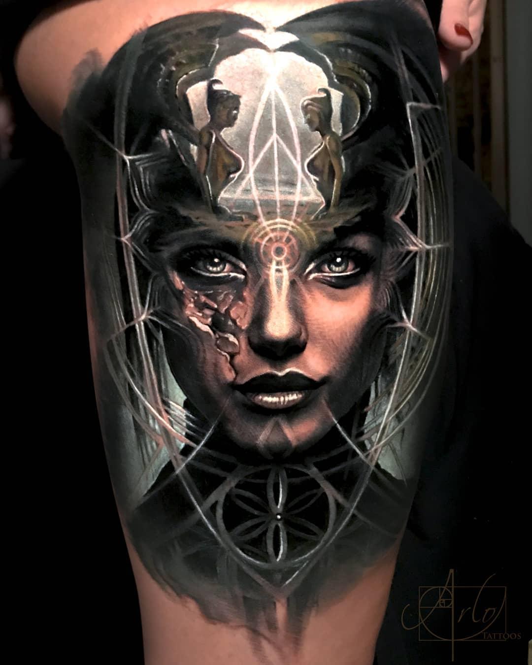 Arlo-DiCristina-Tattoos