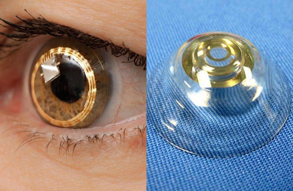 Bionic-Eye-Contact-Lenses