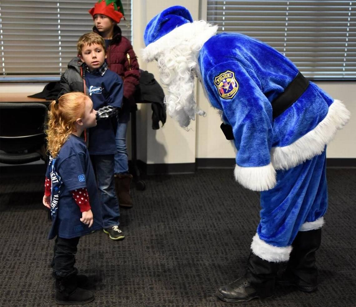 Blue-Santa-Blue-Line-Police