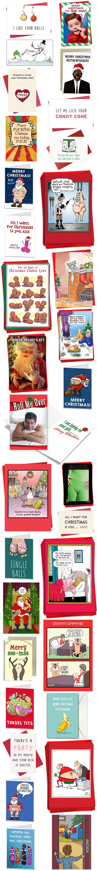 DIRTY NAUGHTY ADULT CHRISTMAS CARDS