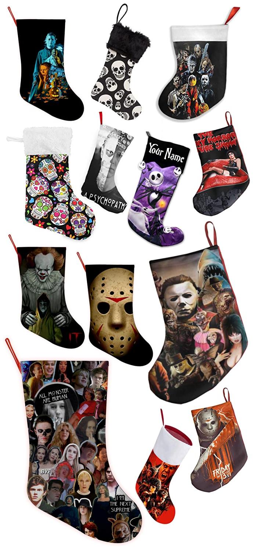 Horror Christmas Stockings