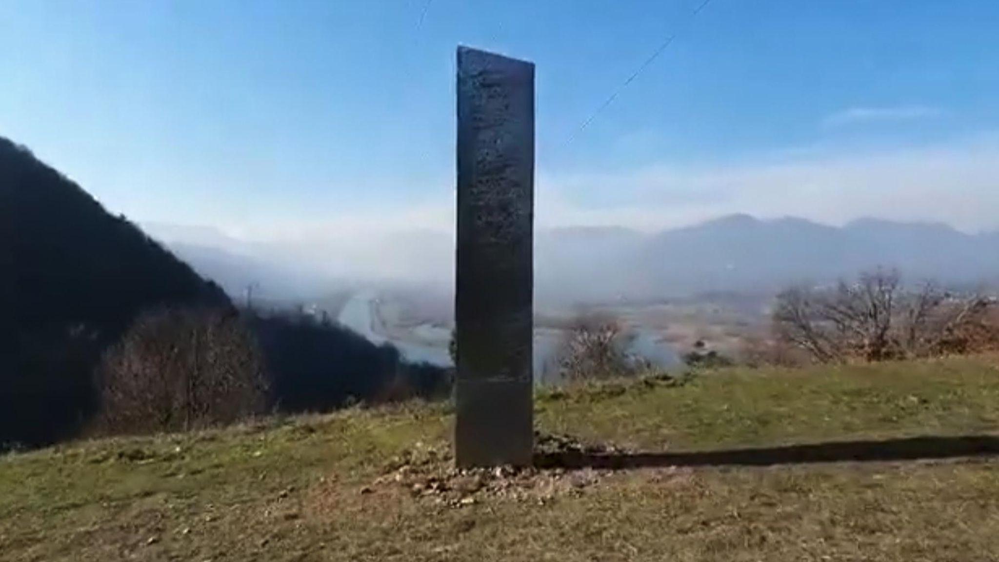 Romania-Monolith-Found