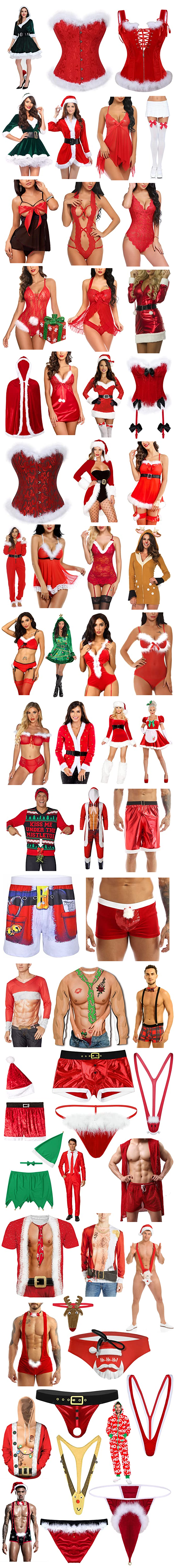 SEXY CHRISTMAS OUTFITS FOR HIM AND HER