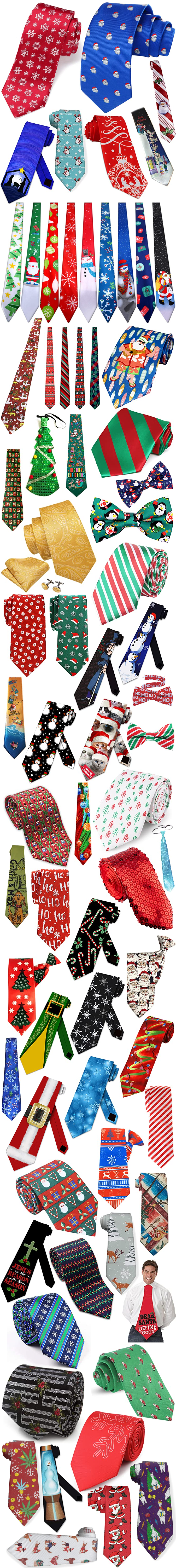 ONLY THE BEST AND FUNNIEST CHRISTMAS TIES