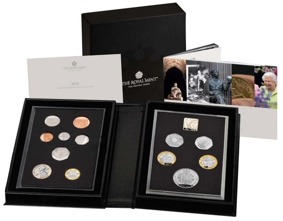 Royal Mint 2021 United Kingdom Proof Coin Set